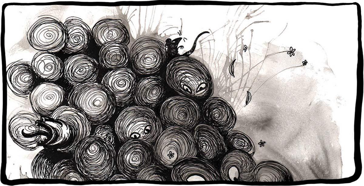 Détail - Illustration publiée dans Rrose Sélavy