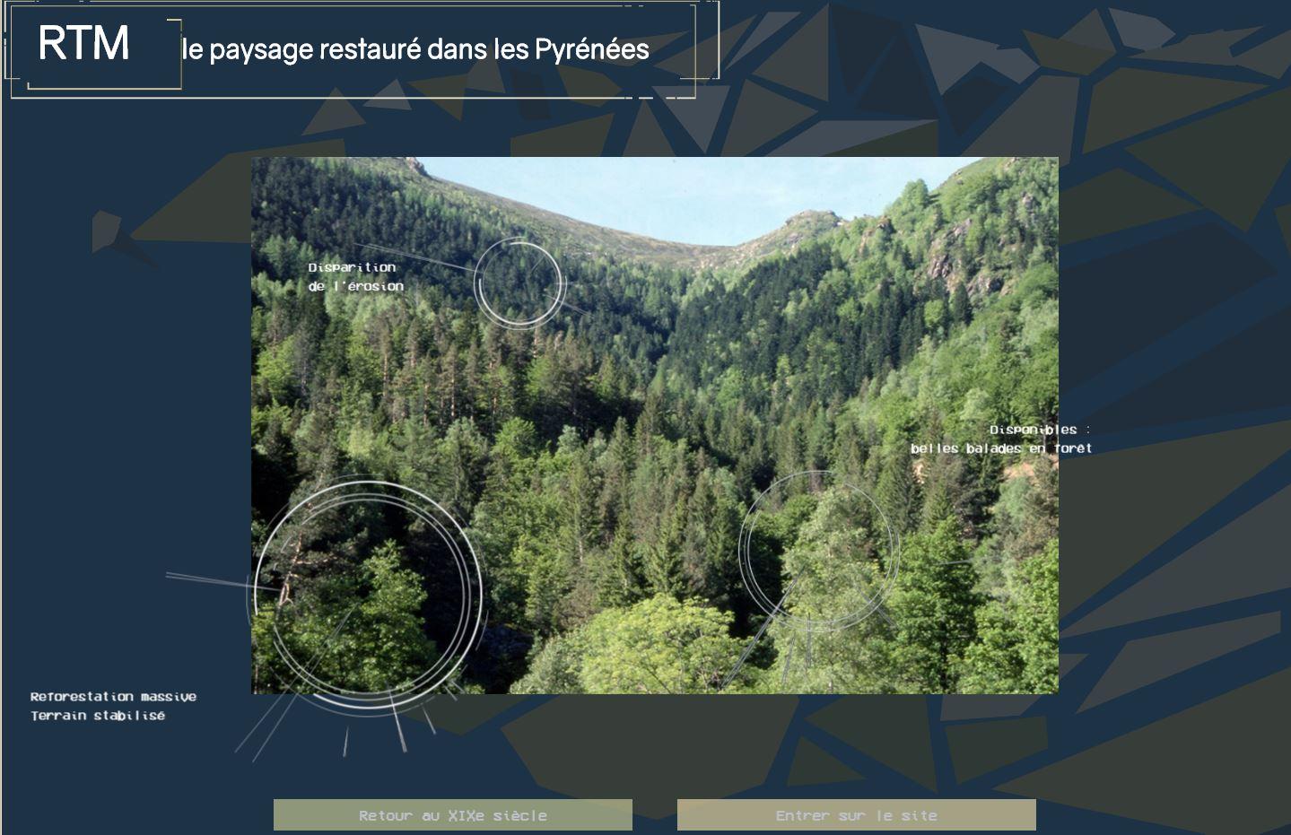 RTM site web page d'accueil (CNRS)