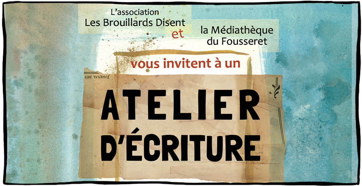 Affiche pour illustrer le thème de Graphisme Print
