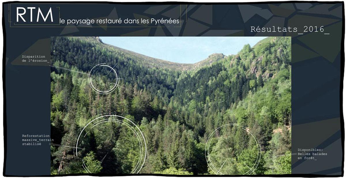 Image de page d'accueil d'un site pour illustrer le graphisme web
